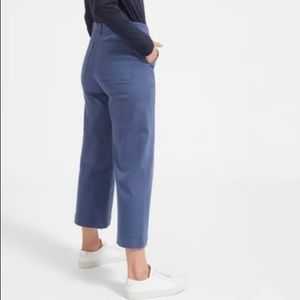 Everlane Pants - EVERLANE wide leg crop pant